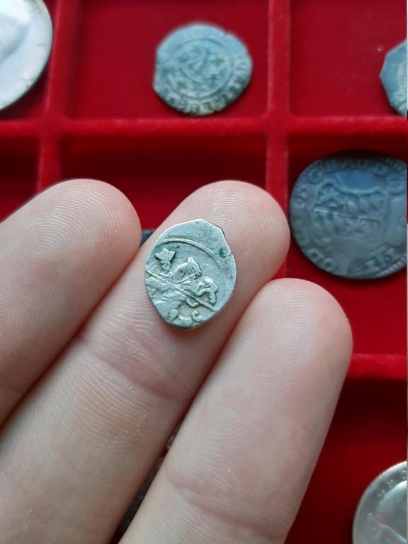 """Kopek de plata de Iván IV """"el Terrible"""". 1547-1584 20200812"""