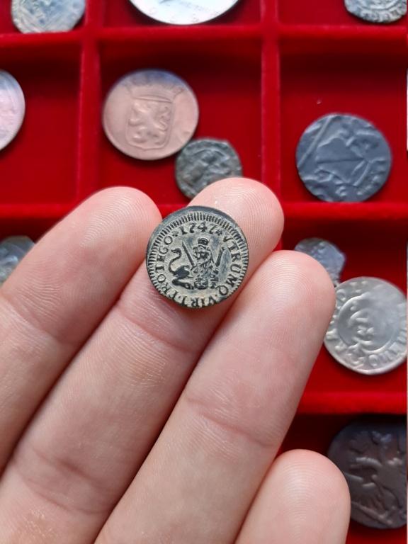 1 Maravedí de Fernando VI. Segovia, 1747. 20200817