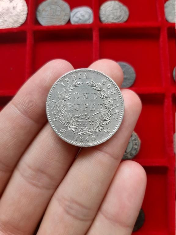 Rupia de 1840, India Británica. 20200838