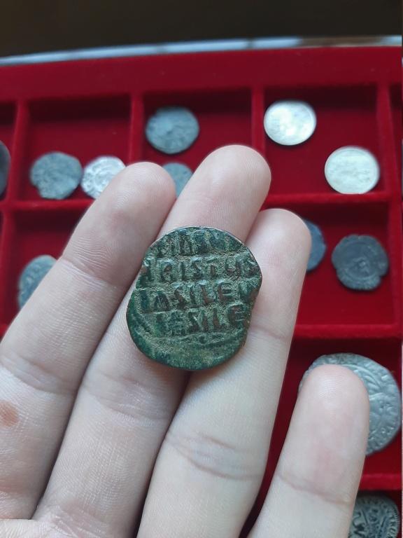 Follis anónimo atribuido a Constantino VIII, 1025-1028. Constantinopla 20200842