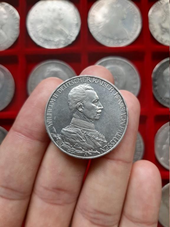 Imperio Alemán, 3 Marcos 1913. Conmemorativa 25 años de reinado de Guillermo II. 20201020
