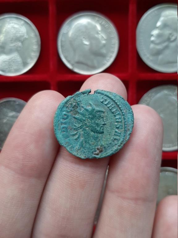 Aureliano de Diocleciano. IOVI CONSERVAT AVGG. Júpiter  y águila. Roma 20201112