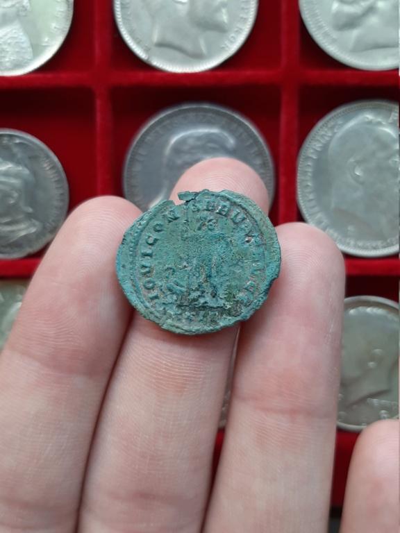 Aureliano de Diocleciano. IOVI CONSERVAT AVGG. Júpiter  y águila. Roma 20201113
