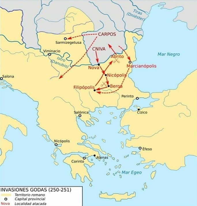 Antoniniano de Trajano Decio. VICTORIA AVG. Roma 20210330