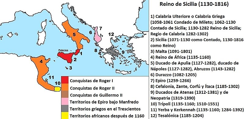 Follaro de Guillermo II de Sicilia (1166-1189). Messina. 800px-17
