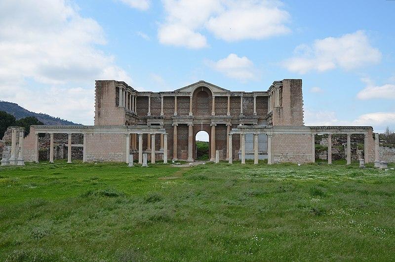 Sardes, Lidia. Unidad de bronce, c. 180 a.C. - 88 a.C. 800px-22