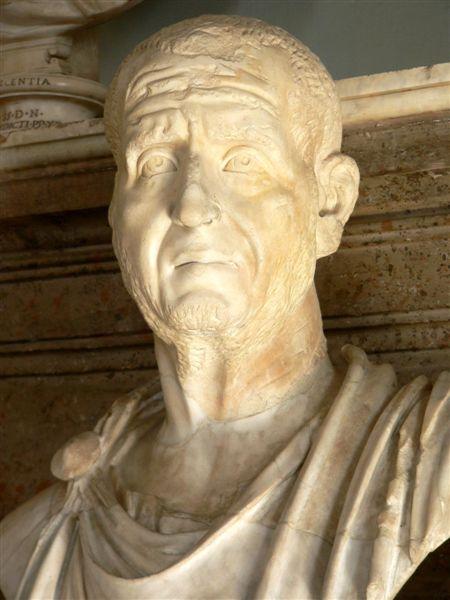 Antoniniano de Trajano Decio. VICTORIA AVG. Roma Empero10