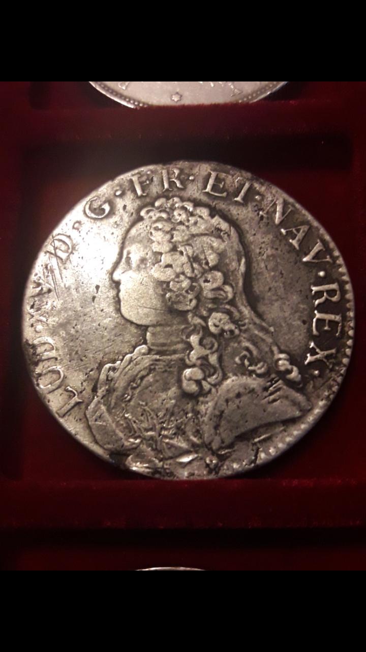 """Écu francés """"aux branches d'olivier"""" 1727 Luis XV Screen33"""
