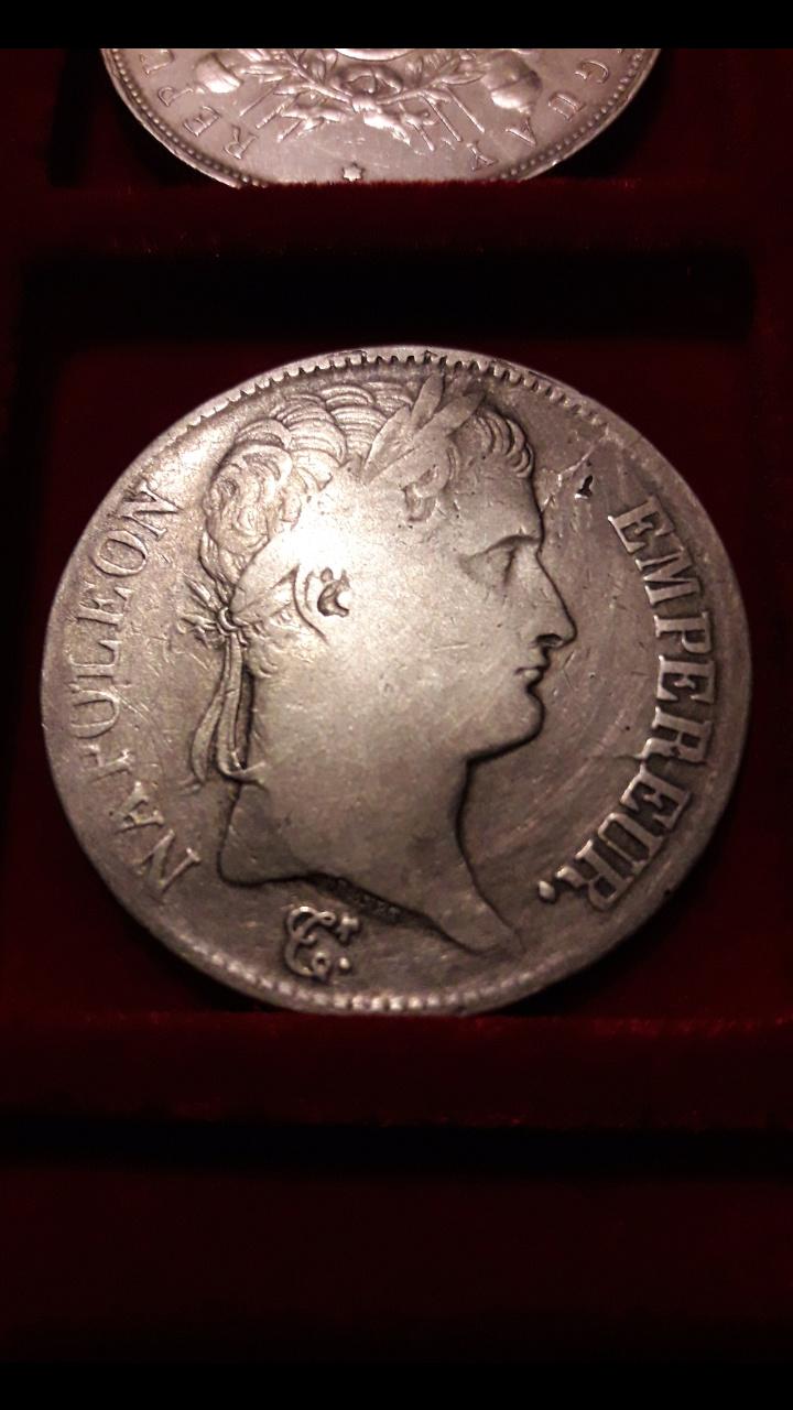 5 Francos de Napoleón I 1813Q Screen50