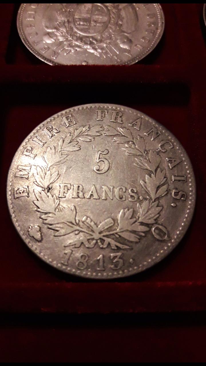 5 Francos de Napoleón I 1813Q Screen51
