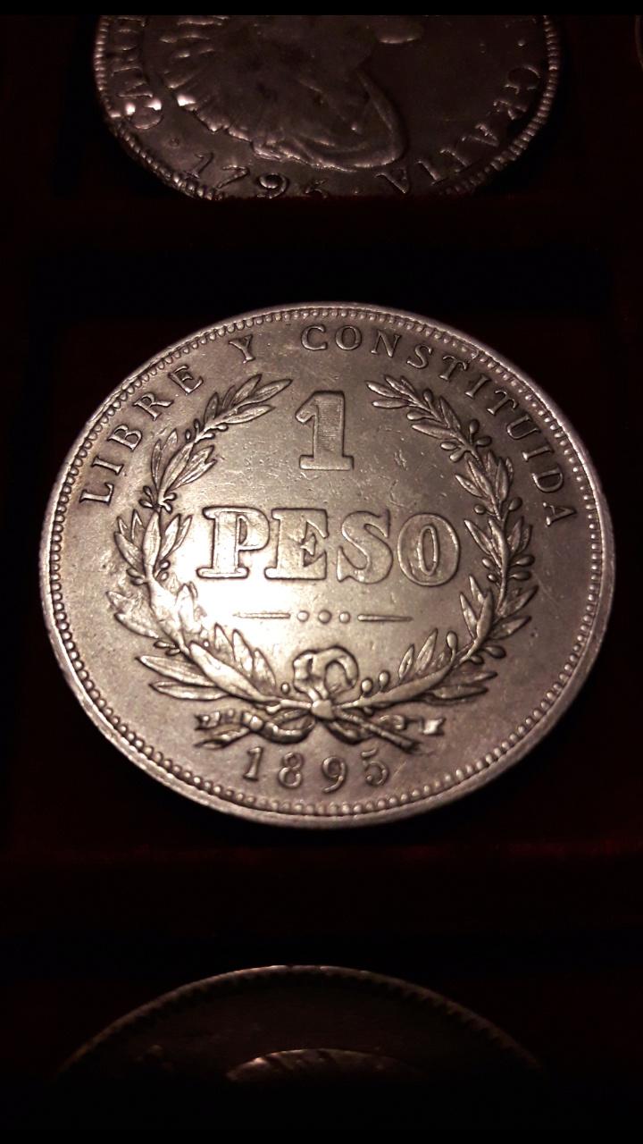 1 Peso Uruguay 1895 Screen52