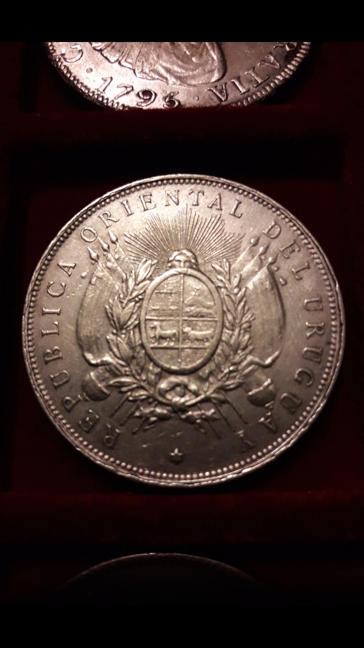 1 Peso Uruguay 1895 Screen53