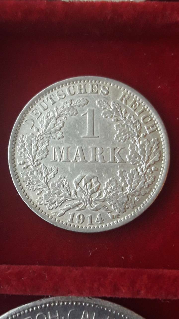 Alemania 1 Marco 1914A Screen65