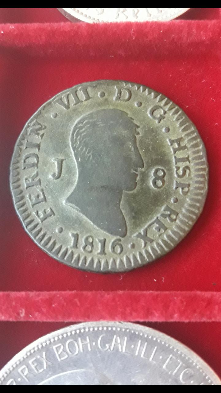 8 Maravedís 1816. Fernando VII. Jubia Screen79