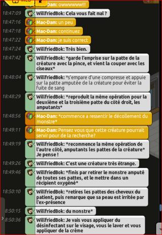 [C.H.U] Rapports d'actions RP de WillfriedBok 311