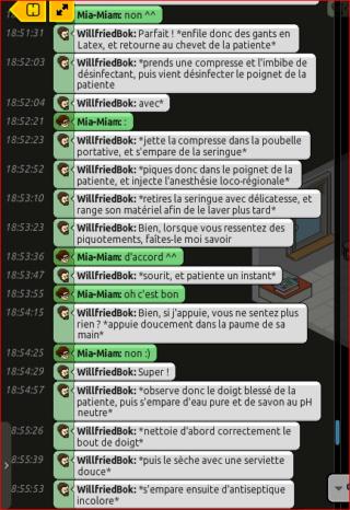 [C.H.U] Rapports d'actions RP de WillfriedBok 413