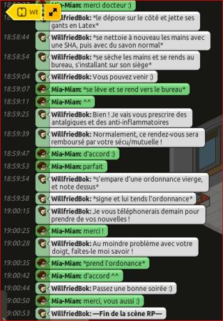 [C.H.U] Rapports d'actions RP de WillfriedBok 612