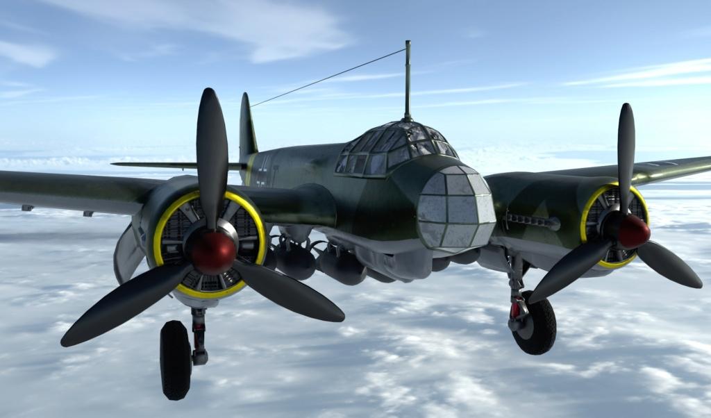 [ CINEMA4D ] (WIP) Messerschmitt BF-109 E / VRAY - Page 2 110
