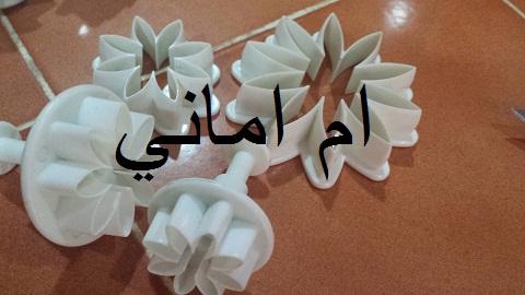 وصفة جديدة لمقرقشات الوردة حصريا من مطبخ ام اماني I_52f910