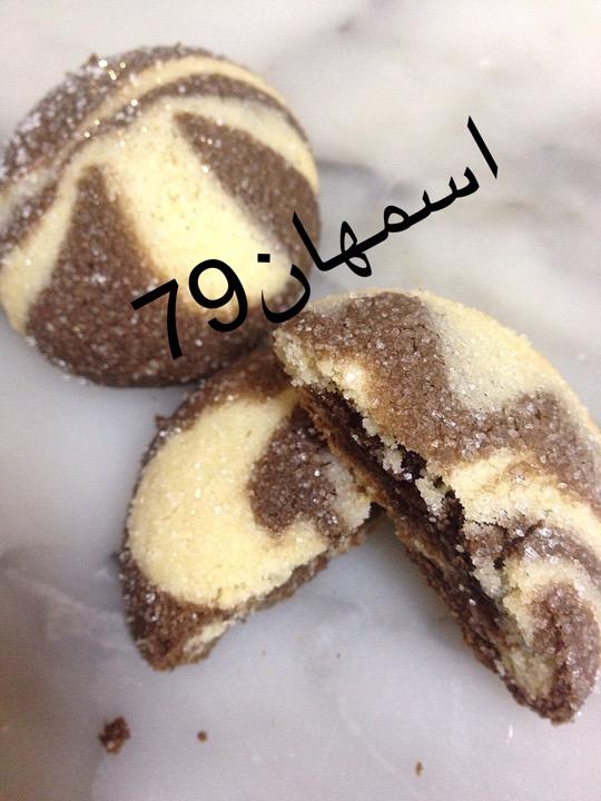 حلوة النمرة .....حلوى رائعة و خفيفة و جميلة الذوق  I_95b910