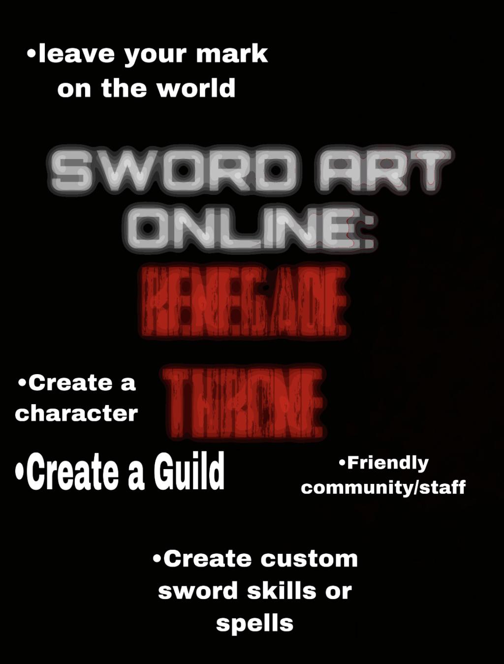 Sword Art Online: Renegade Throne D254ba10