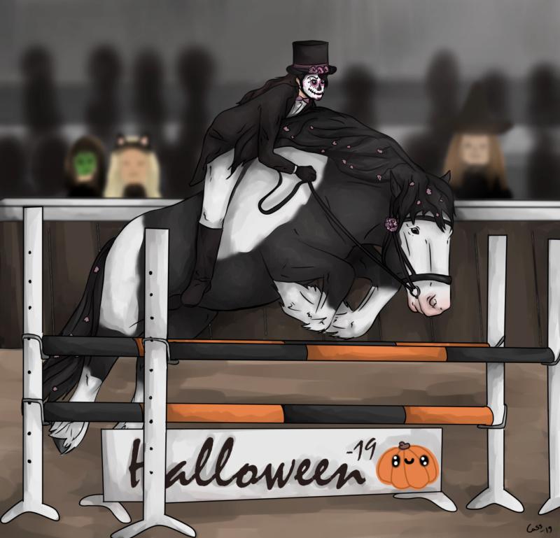 Halloweenin estekilpailut x Winner Comes Home Hallow10