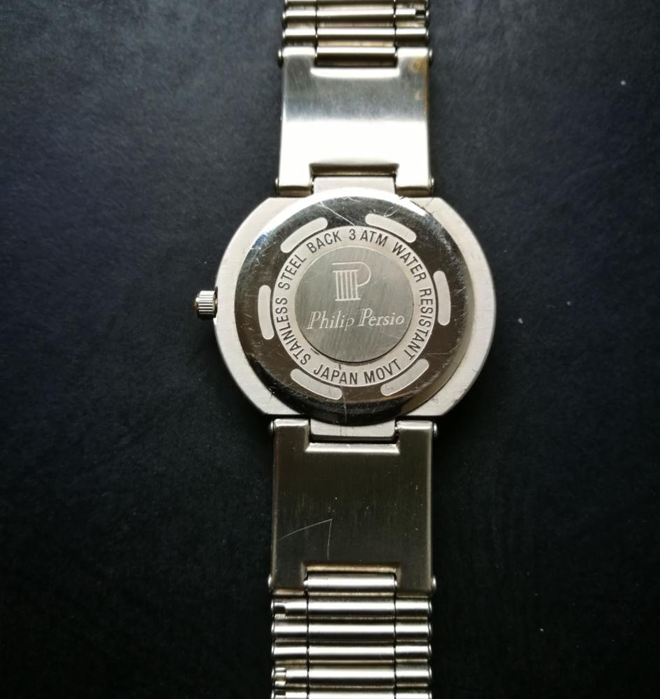 Ouvrir une montre Philip Persio Water resistant Montre11