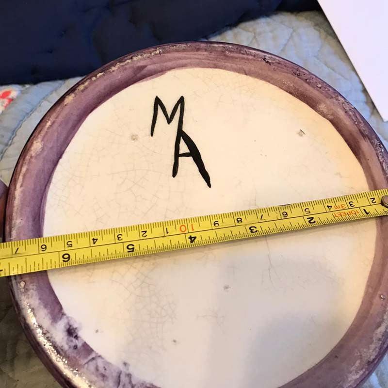 ID please MA mark on mug - Armour / Bough Pottery?  Mug211