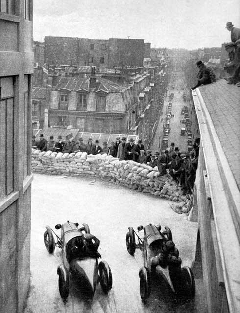 Les insolites du sport automobile. Course10