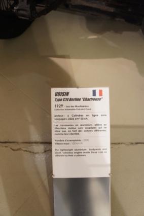 Musée Automobile de La Sarthe - Musée des 24 heures - Page 3 Dsc07430