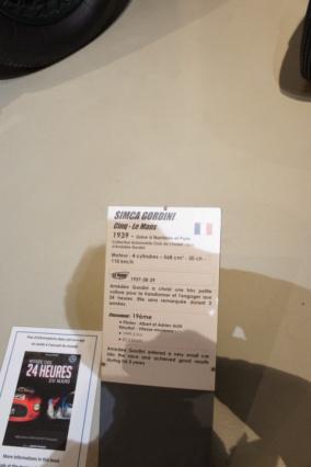 Musée Automobile de La Sarthe - Musée des 24 heures - Page 3 Dsc07516