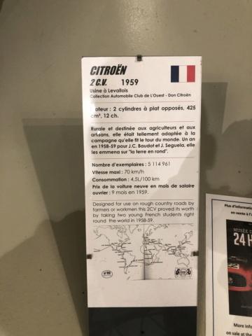Musée Automobile de La Sarthe - Musée des 24 heures - Page 3 Img_6518