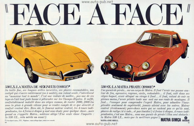 Les publicités que vous aimez .... - Page 6 Matra-11