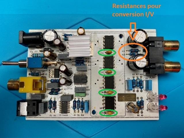 Avis pour amélioration Dac Muse TDA1543x4 Dac-0211