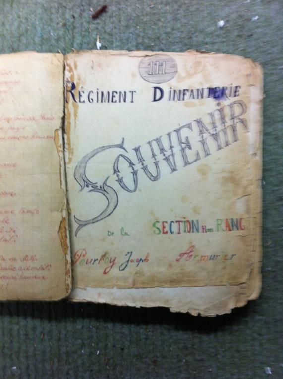 Livret de chant 111 régiment d'infanterie WW1 Img_0559