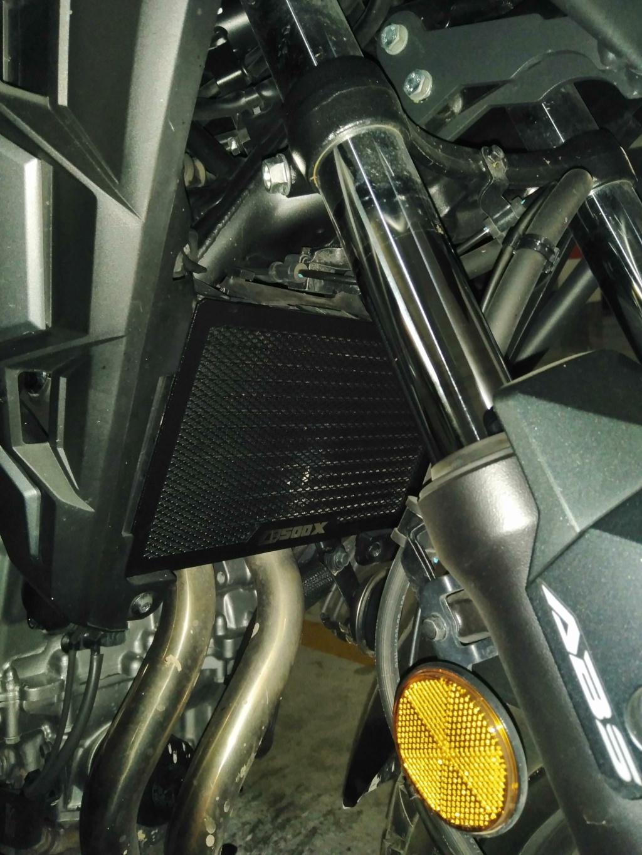 Chuches de Aliexpress montadas... protector radiador, pedal freno y alza cúpula Img_2040