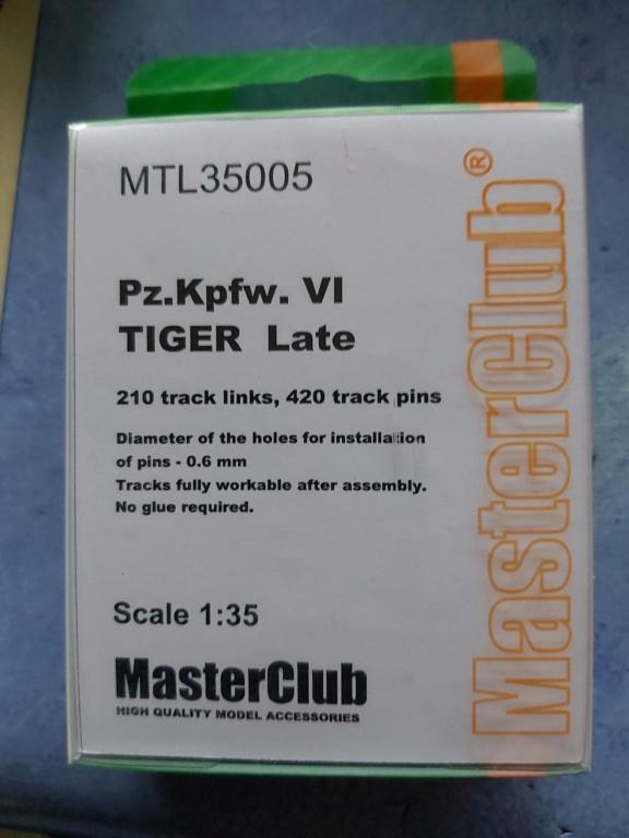 Tigre I modèle de chez AFV 1/35 20200117