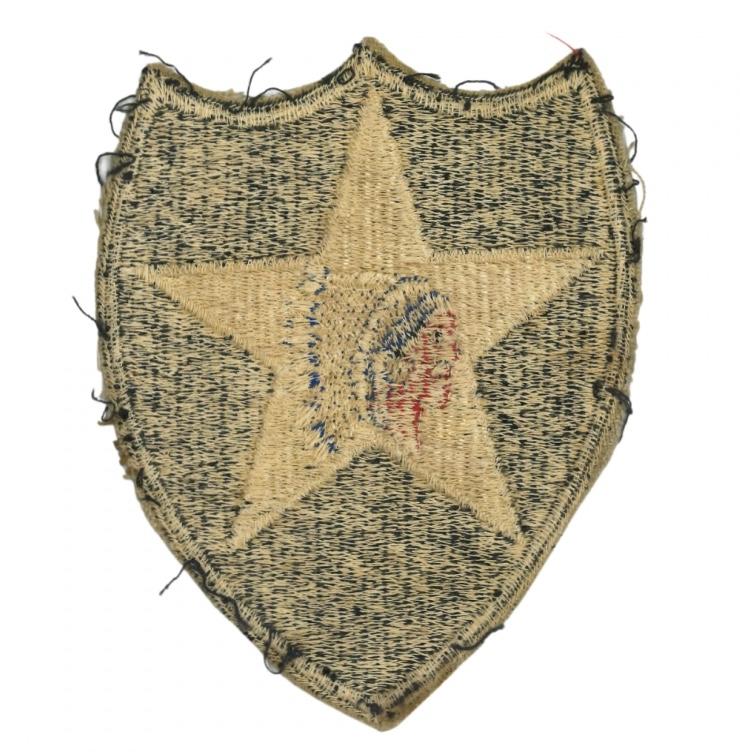 Authentification patch - insigne américain 2 ème division ( tête d'indien ) Fullsi23