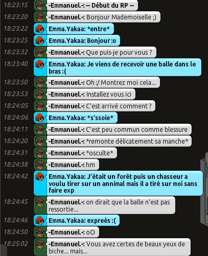 [C.H.U] Rapports d'actions RP d'-Emmanuel.- 115