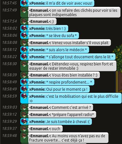 [C.H.U] Rapports d'actions RP d'-Emmanuel.- 211