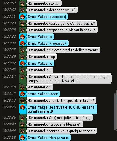 [C.H.U] Rapports d'actions RP d'-Emmanuel.- 315