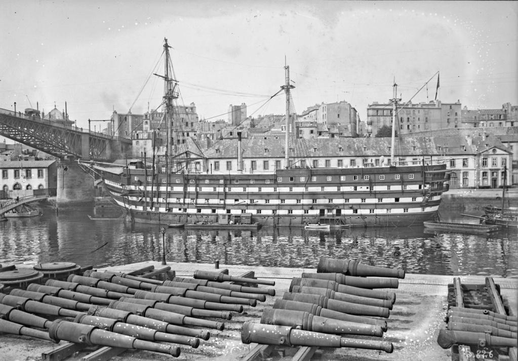 Les navires écoles français du XIX é à nos jours en photos  - Page 4 Borda_10
