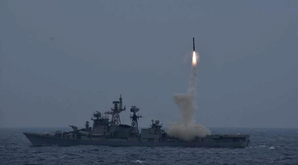 Systèmes d'armes de la Marine Indienne Brahmo10