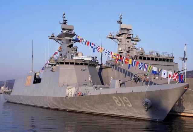Fregates FFX et FFK Classe Oulsan Ff_81910