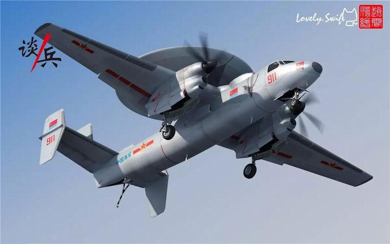 [Aviation] AWACS Aéronaval Kj600c10