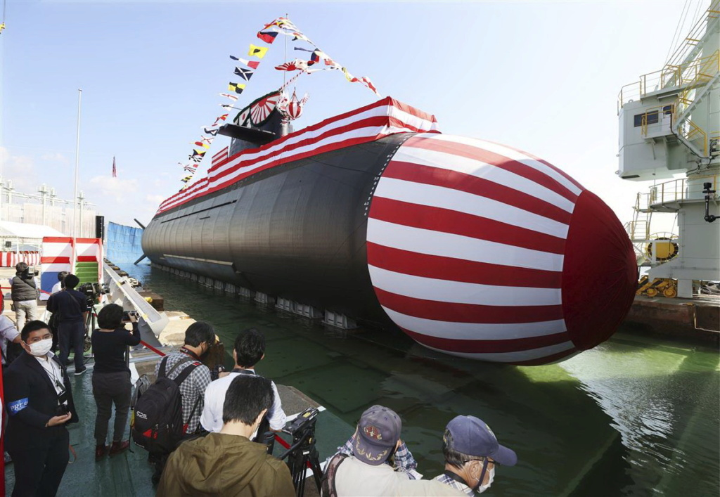 Sous-marins type 29SS (classe TAIGEI) Taigei10