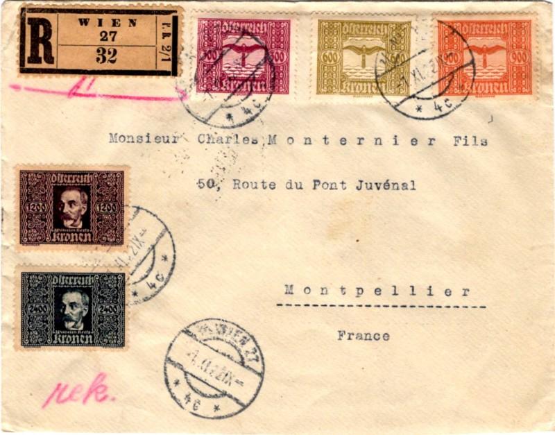 Richtiger Tarif oder philatelistischer Brief? Kress10