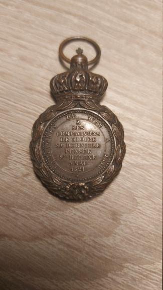 Médaille Sainte-Hélène 20210221