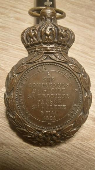 Médaille Sainte-Hélène 20210223