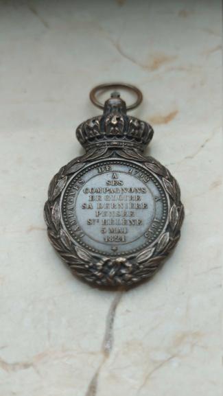 Médaille Sainte-Hélène 20210229